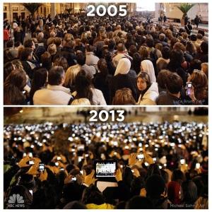 eleccion papa 2005 2013
